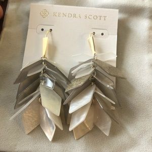 Kendra Scott Jenni Statement Earrings-Gold